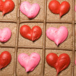 CLoseup of valentine cake — Stockfoto #11031399