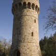 Conical Castle tower — Stock Photo