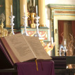 Chapel at Mission San Jose-Bible — Stock Photo
