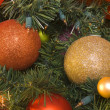 Stock Photo: Christmas tree ornaments
