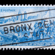 Vintage US postage stamp — Stock Photo