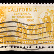 Vintage US commemorative postage stamp — Stock Photo #11035762