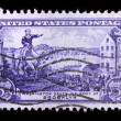 Vintage US commemorative postage stamp — Stock Photo