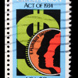 Vintage US commemorative postage stamp — Stock Photo #11035841