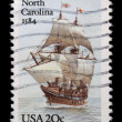 Vintage US commemorative postage stamp — Stock Photo #11035849