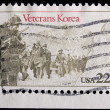 Stock Photo: Vintage US commemorative postage stamp