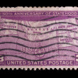 Vintage US commemorative postage stamp — Stock Photo #11035998