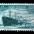 Vintage US commemorative postage stamp — Stock Photo #11036047