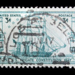 Vintage US commemorative postage stamp — Stock Photo #11036135