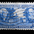 Vintage US commemorative postage stamp - Stock fotografie