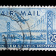 Vintage US commemorative postage stamp — Stock Photo #11036208