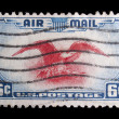 Vintage US commemorative postage stamp — Stock Photo #11036218