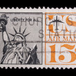 Vintage US commemorative postage stamp — Stock Photo #11036225