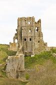 Corfe castle — Stock Photo