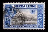 Vintage Sierra Leone postage stamp — Stock Photo