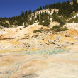 Stock Photo: Mount Lassen sulpher pools