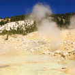 Stock Photo: Mount Lassen sulpher springs and mud baths