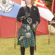 Young Highlander of the Campbell clan - Stockfoto