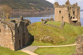 Castle at Loch Ness in Scotland — Stock Photo