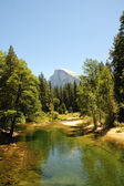 Half Dome in the summer — Stock Photo