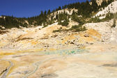 Mount Lassen sulpher pools — Stock Photo