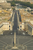 View from the top of the Vatican — Stock Photo