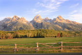 Sunrise in the Tetons — Stock Photo