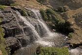 Waterfall frozen — Stock Photo