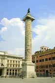 Historic Trajans column — Stock Photo