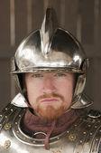 Kinght de armadura — Foto de Stock