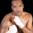 African american boxer — Stock Photo #11110913