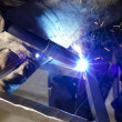 Closeup of welder — Stock Photo #11111019