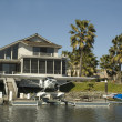 Executive house on the water — Stock Photo #11111126