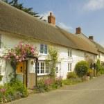 English village street — Stock Photo