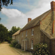 English country cottage — Stock Photo