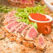 Seared Ahi - Stock Photo