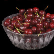 Stock Photo: Bowl of cherries