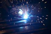 Arc welding — Stock Photo
