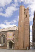 St. Stephens church in Exeter — Stock Photo