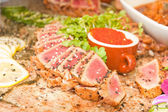 Seared Ahi — Fotografia Stock