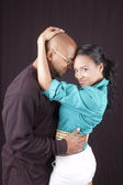 Happy african-american couple — Stock Photo
