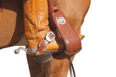 Western stirrup — Stock Photo