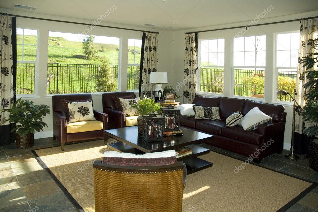 Sala De Estar Moderna Fotos ~ Descargar  Sala de estar moderna — Imagen de stock #11111081