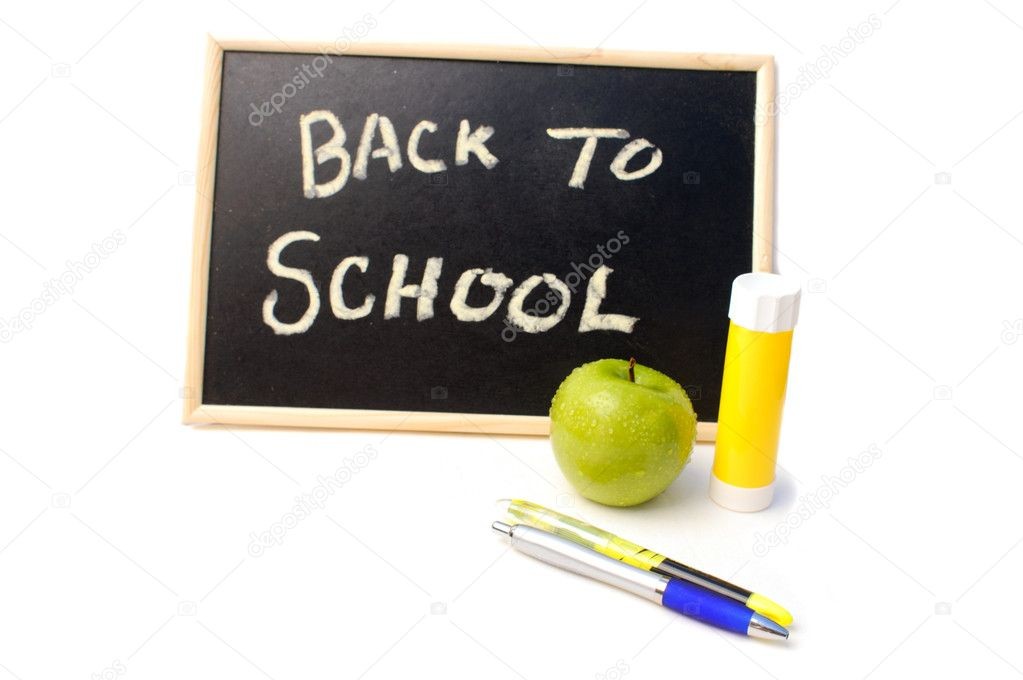 Back to School Background  — Stock Photo #11709342