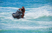 Water motorcycle — Stock Photo