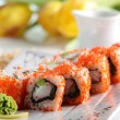 Frest and tasty sushi — Stock Photo