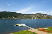 Sjön i vogsges frankrike — Stockfoto