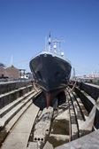 Een scheepswerf — Stockfoto