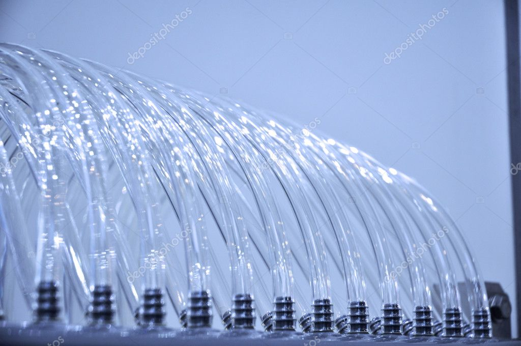 An exbihition of equipments in water treatment field — Stock Photo #11361047