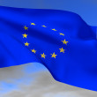 Flag EU — Stock Photo
